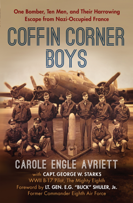 Coffin Corner Boys - Carole Engle Avriett book