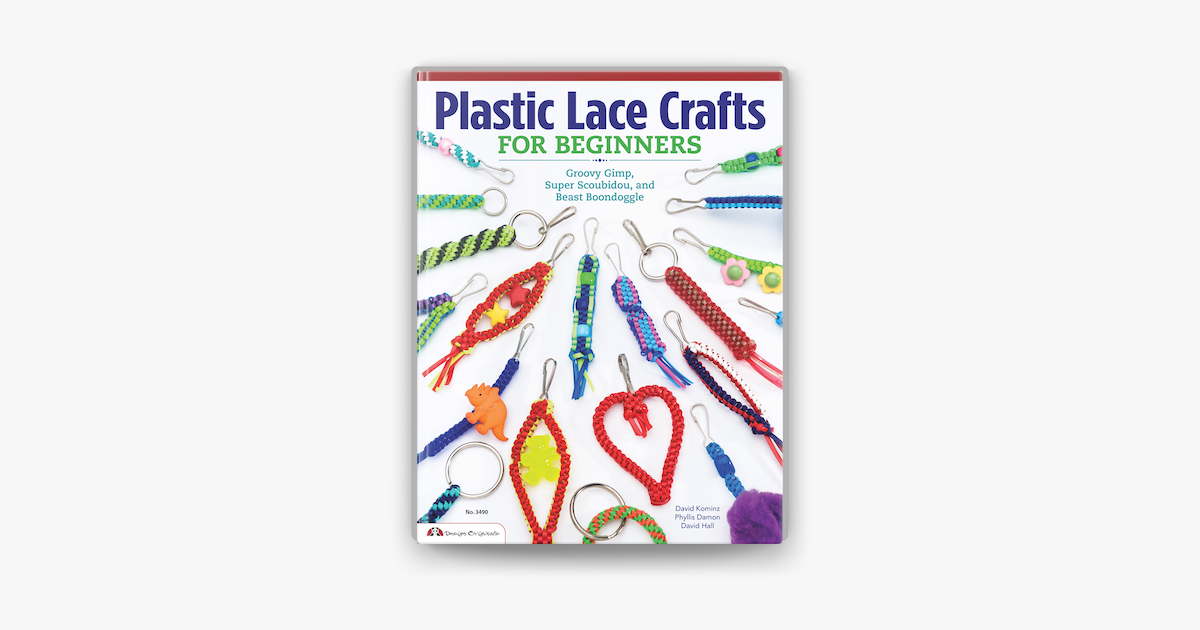 Plastic Lace Crafts For Beginners On Apple Books