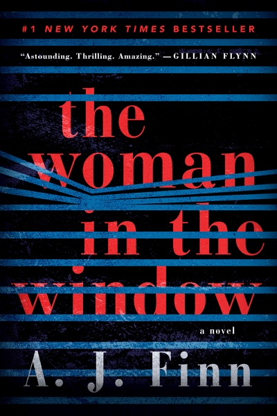 The Woman in the Window - A. J. Finn book cover