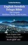English Swedish Telugu Bible - The Gospels - Matthew Mark Luke  John