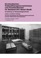 Kirchenbücher, Volkszählungsverzeichnisse Und Familienbücher Im Staatsarchiv Basel-Stadt