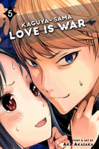 Kaguya-sama: Love Is War, Vol. 5 La couverture du livre martien