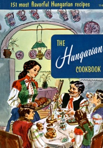 The Hungarian Cookbook Book Cover