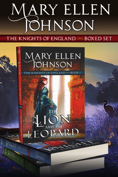 The Knights of England Boxed Set, Books 1-3 - Mary Ellen Johnson book cover