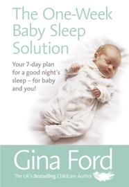 THE ONE-WEEK BABY SLEEP SOLUTION