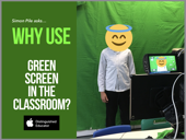 Why use green screen in the classroom?