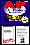 AP US History Test Prep Review--Exambusters Flash Cards