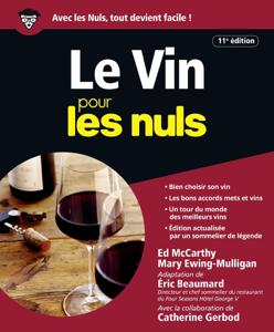 Le Vin pour les Nuls - 11e édition La couverture du livre martien