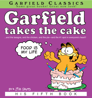 Garfield Takes the Cake - Jim Davis book