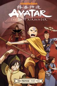 Avatar: The Last Airbender - The Promise Part 2 Boekomslag
