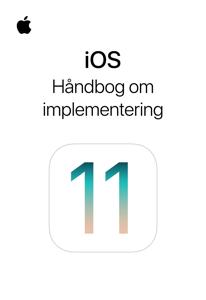 iOS – Håndbog om implementering