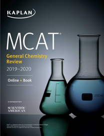 MCAT General Chemistry Review 2019-2020 book