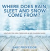 Where Does Rain Sleet And Snow Come From  Weather For Kids Preschool  Big Children Guide