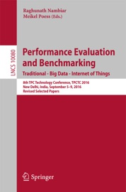 Performance Evaluation And Benchmarking Traditional Big Data Internet Of Things