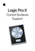 Apple Inc. - Logic Pro X Control Surfaces Support artwork