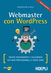Webmaster con WordPress Copertina del libro