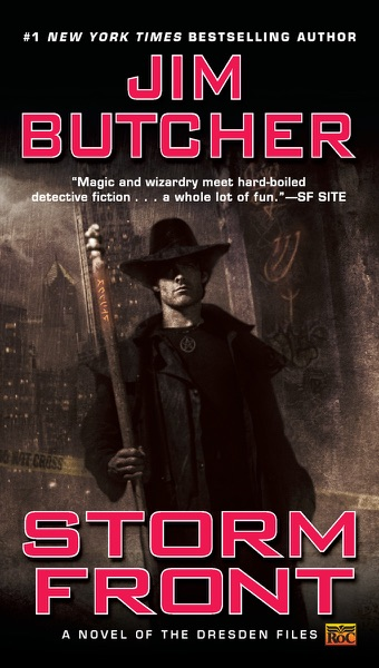 Storm Front - Jim Butcher book cover