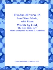 Download and Read Online Exodus 20 verse 15 Lead sheet music  with Piano Music