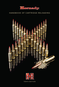 Hornady 10th Edition Handbook of Cartridge Reloading Book Cover