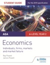 AQA A-level Economics Student Guide 3 Individuals Firms Markets And Market Failure