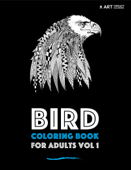 Bird Coloring Book for Adults Vol 1