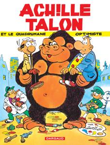 Achille Talon - tome 15 - Achille Talon et le quadrumane optimiste La couverture du livre martien