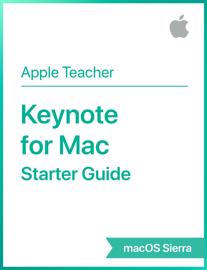 Keynote for Mac Starter Guide macOS Sierra book