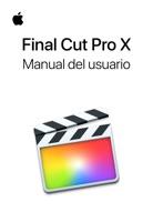 Manual del usuario de Final Cut Pro X.