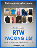The Complete RTW Packing List: What to Bring, Packing Tips, Packing Light and More