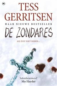 De zondares Door Tess Gerritsen Boekomslag