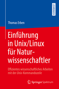 Einführung in Unix/Linux für Naturwissenschaftler Buch-Cover