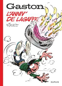 Gaston hors-série 60 ans - L'anniv' de Lagaffe La couverture du livre martien