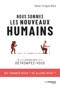 Nous sommes les nouveaux humains La couverture du livre martien