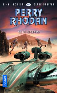Perry Rhodan n°371 : Seth-Apophis La couverture du livre martien
