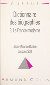 Dictionnaire des biographies (3)