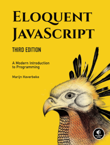Eloquent JavaScript, 3rd Edition La couverture du livre martien