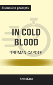 In Cold Blood by Truman Capote (Discussion Prompts)