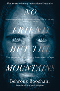 No Friend but the Mountains La couverture du livre martien