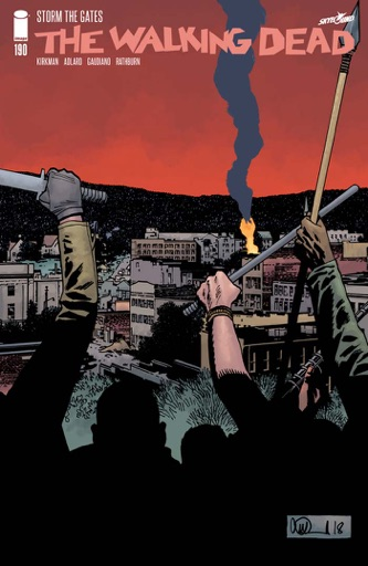 The Walking Dead #190 - Robert Kirkman, Charlie Adlard & Stefano Gaudiano