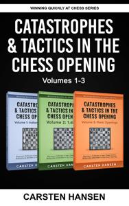 Catastrophes & Tactics in the Chess Opening - Boxset 1 Copertina del libro