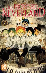 The Promised Neverland T07 La couverture du livre martien