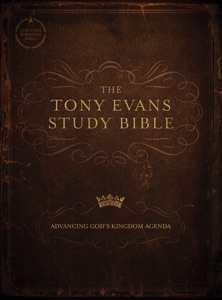 CSB Tony Evans Study Bible Book Cover