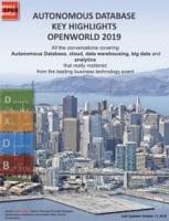 Hightlights From Autonomous OpenWorld  #OOW19