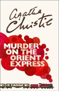 Murder on the Orient Express de Agatha Christie Capa de livro