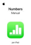 Manual d'usuari del Numbers per a l'iPad