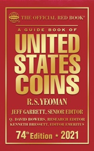 A Guide Book of United States Coins 2021 Book Cover