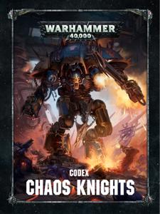 Codex: Chaos Knights La couverture du livre martien