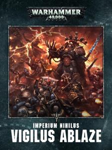 Imperium Nihilus: Vigilus Ablaze (Enhanced Edition) La couverture du livre martien