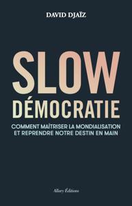 Slow démocratie La couverture du livre martien