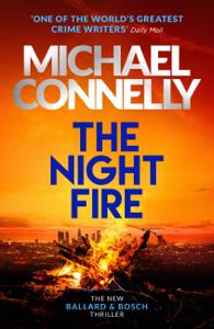 The Night Fire La couverture du livre martien